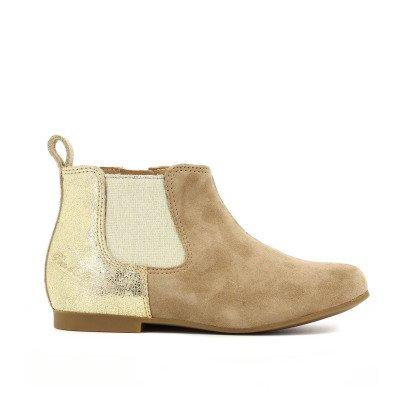 Pom d'Api Boots Plates Bimatière Dory Back-listing