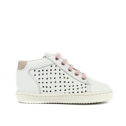 Pom d'Api Pink Lace-Up Trainers-listing