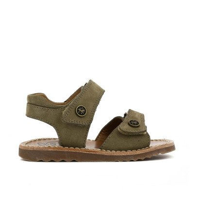 Pom d'Api Easy Waff Velcro Nubuck Sandals-listing
