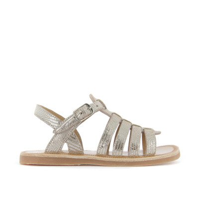 Pom d'Api Strap Iridescent Leather Sandals-listing