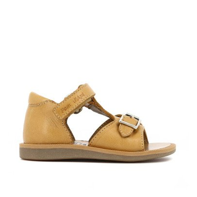 Pom d'Api Easy Poppy Velcro Leather Sandals-listing