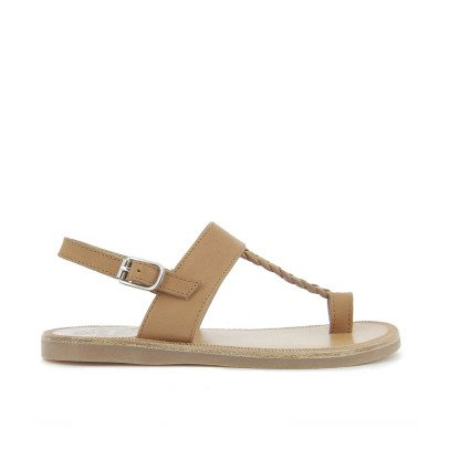Pom d'Api Hera Leather Sandals-listing