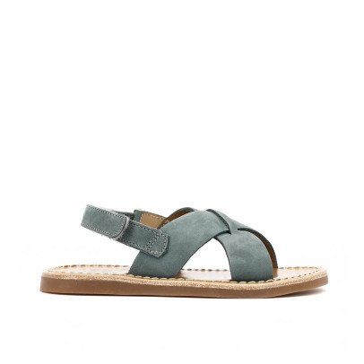 Pom d'Api Stitch Cross Nubuck Beach Sandals-listing