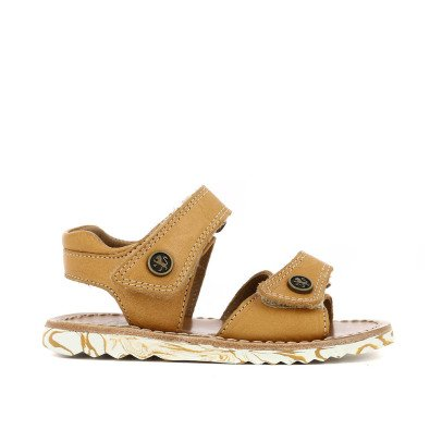 Pom d'Api Easy Waff Velcro Leather Sandals-listing