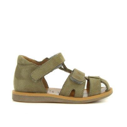 Pom d'Api Boy Poppy Velcro Nubuck Sandals-listing
