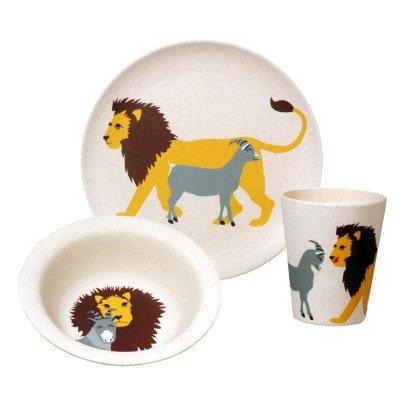 Zuperzozial Set vaisselle Lion-listing