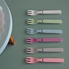 Zuperzozial Tenedores de bambú - Set de 6-listing
