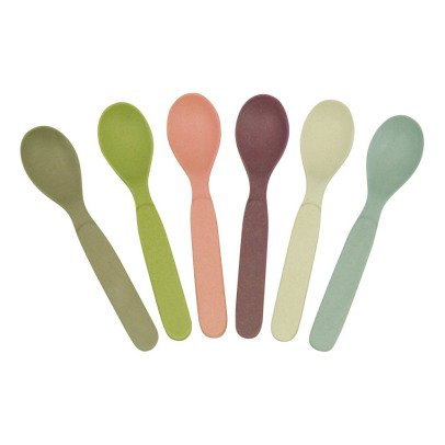 Zuperzozial Bamboo Spoons - Set of 6-listing
