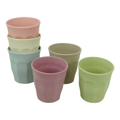 Zuperzozial Bamboo Cups - Set of 6-listing