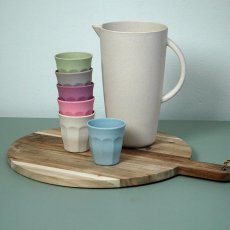 Zuperzozial Vasos de bambú - Set de 6-listing