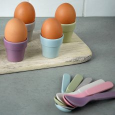 Zuperzozial Bamboo Egg Cups - Set of 6-listing