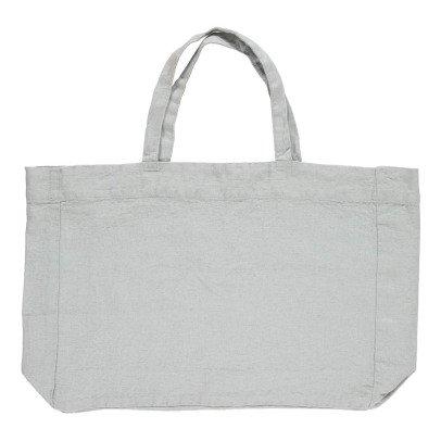 Linge Particulier Shopper in lino lavato -listing