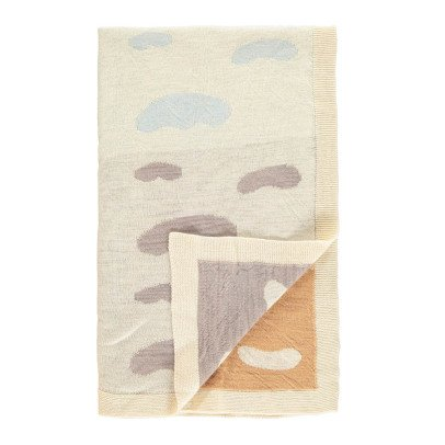 Whole Waca Cloud Jacquard Knitted Children's Blanket 75x130cm-listing