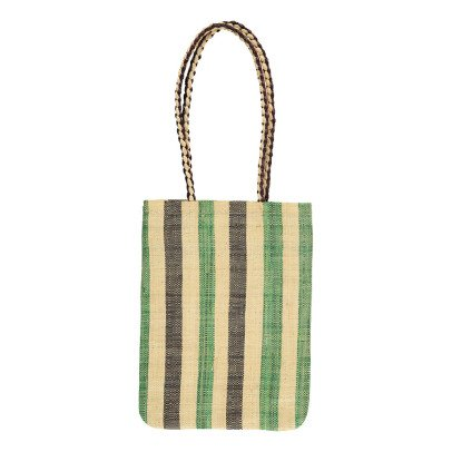 Soeur Brownie Striped Raffia Bag-product