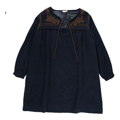 Soeur Violette Embroidered Dress-listing