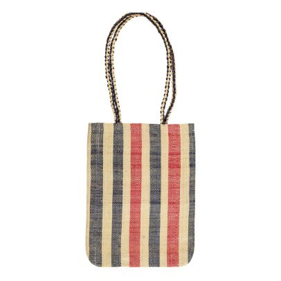 Soeur Brownie Striped Raffia Bag-product