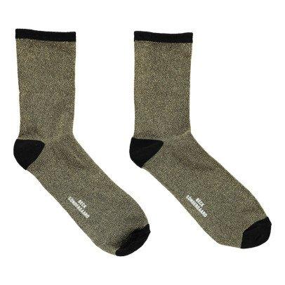 Beck Sönder Gaard Solid Dina Lurex Socks-listing