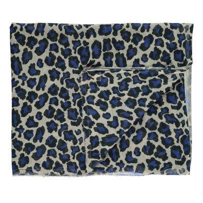 Beck Sönder Gaard Blandan Leopard Scarf-listing