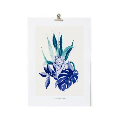 Maison Baluchon Affiche A3 Tropical-listing