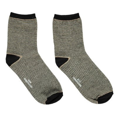 Beck Sönder Gaard Dalea Lurex Striped Socks-listing