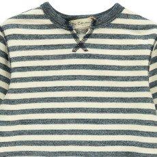 De Cavana Vestito Mollettone Righe Tasche-listing