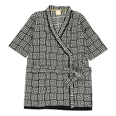 Cataleya Kimono Gráfico Algodón Biológico-listing