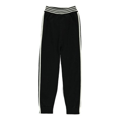 Cataleya Organic Cotton Striped Jogging Bottoms-listing