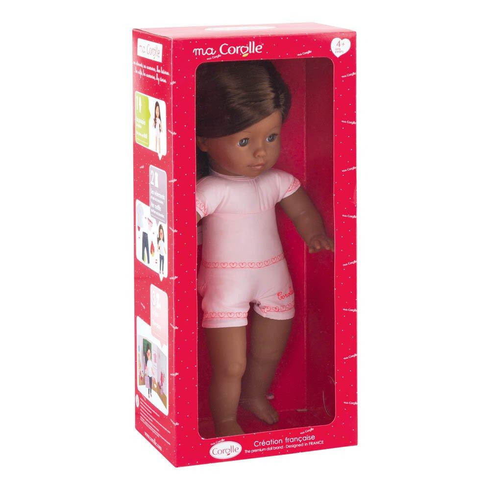 Ma Corolle - Muñeca Chocolate castaña 36 cm para vestir Rosa-product