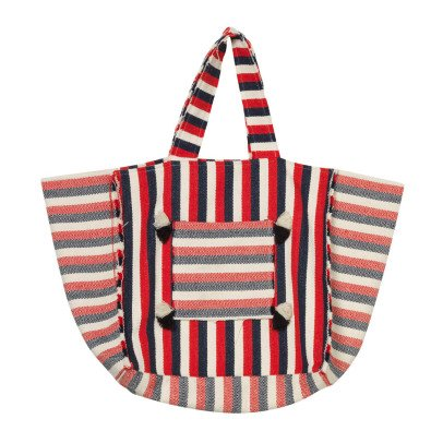 Oaks of acorn Sheung Wan Tricolour Striped Basket-listing