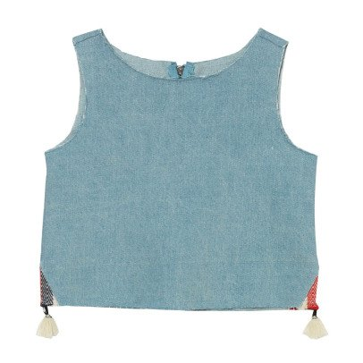 Oaks of acorn Soho Pompom Denim Top-listing