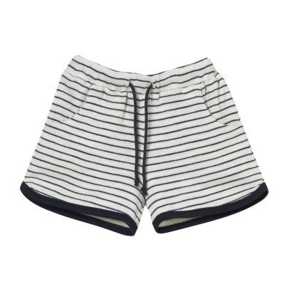 Oaks of acorn Mongkok Striped Shorts-listing