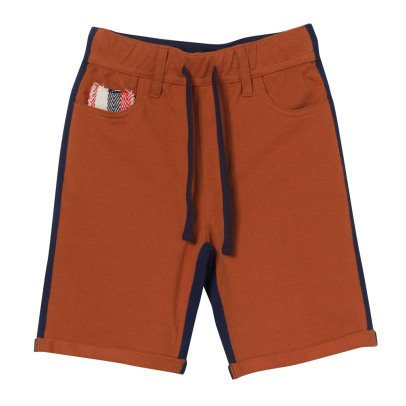 Oaks of acorn Staunton Two-Tone Bermuda Shorts-listing