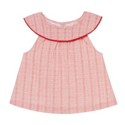 Oaks of acorn Mooncake Striped Top-listing