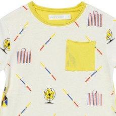 Oaks of acorn Camiseta Bolsillo Central-listing
