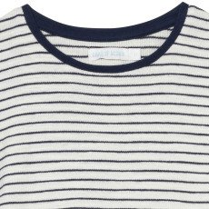 Oaks of acorn Sesame Striped Cropped Top-listing