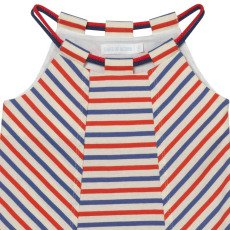 Oaks of acorn Hilly Tricolour Striped Dress-listing