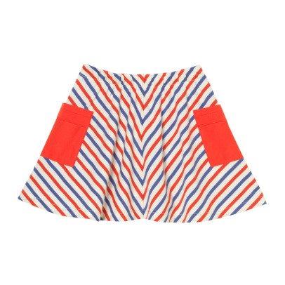 Oaks of acorn Wyndham Pocket Tricolour Skirt-listing