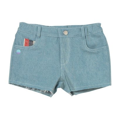 Oaks of acorn Short Denim Poches Rayées Jardine-listing