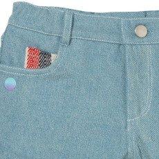 Oaks of acorn Jardine Striped Pocket Denim Shorts-listing