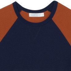 Oaks of acorn T-shirt Mollettone Tasca Righe-listing
