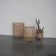 Honoré Raffia Trinket Box-listing