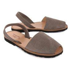Minorquines Sandalen aus Nubuk Avarca -listing