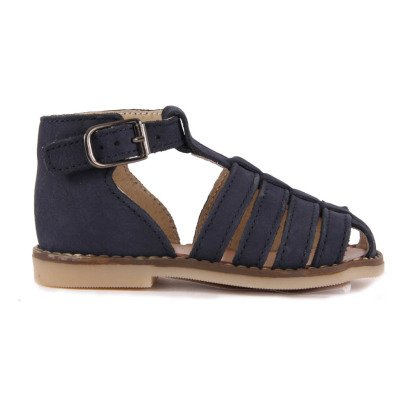 Little Mary Joyeux Nubuck Sandals-listing