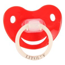 Litolff Ciuccio silicone Rosso-listing