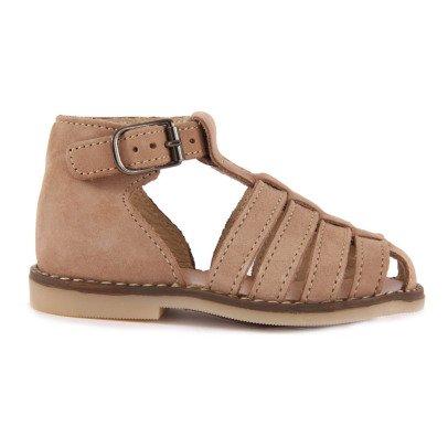 Little Mary Joyeux Nubuck Sandals-listing