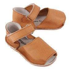 Minorquines Frailera Leather Velcro Sandals-listing