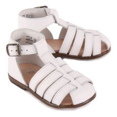 Little Mary Jules Leather Sandals-listing