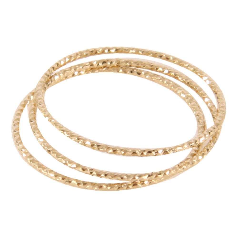 5 Octobre Gold Over Silver Ring Trio-product