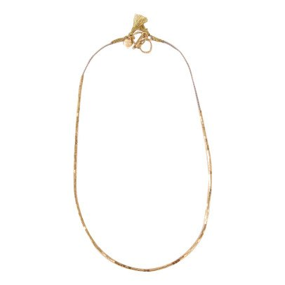 5 Octobre Bibi Gold Over Silver Necklace-product