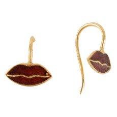 5 Octobre Lip Earrings -listing